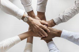 People hand unity rmiet
