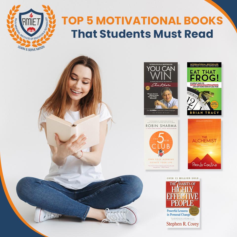 TOP 5 MOTIVATIONAL BOOKS