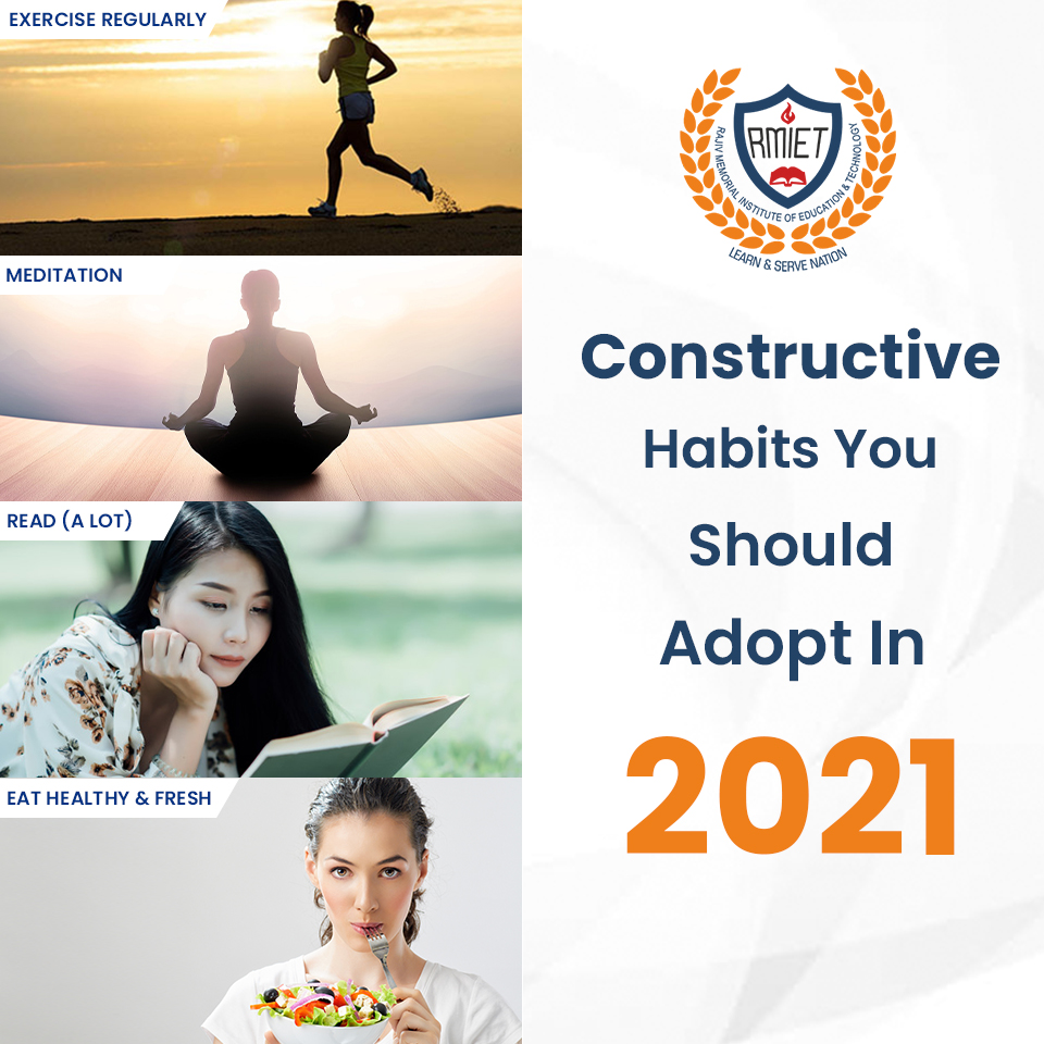 Constructive Habits You Should Adopt In 2021