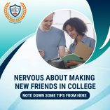 NERVOUS ABOUT MAKING NEW FRIENDS IN COLLEGE?